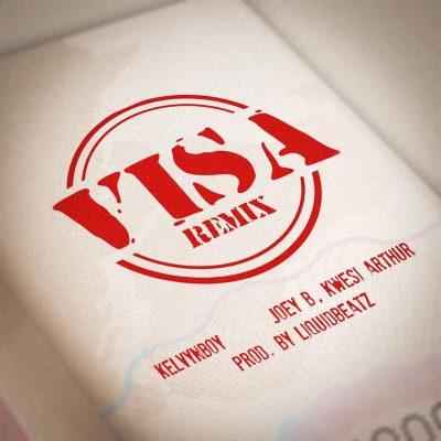 Kelvyn boy Visa Remix cover art