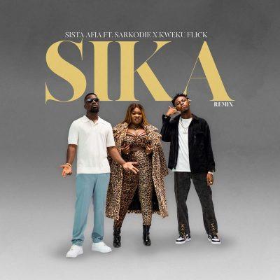 Sista Afia ft Kweku Flick Sarkodie Sika RemixProd by Apyawww dcleakers com mp3 image 1200x1200 1